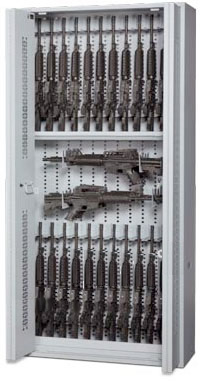 Bi-Fold Weapon Racks 84in 3