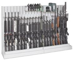 50' weapon storage racks